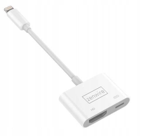 Image of PRZEJŚCIÓWKA Adapter AV Lightning HDMI iPhone iPad