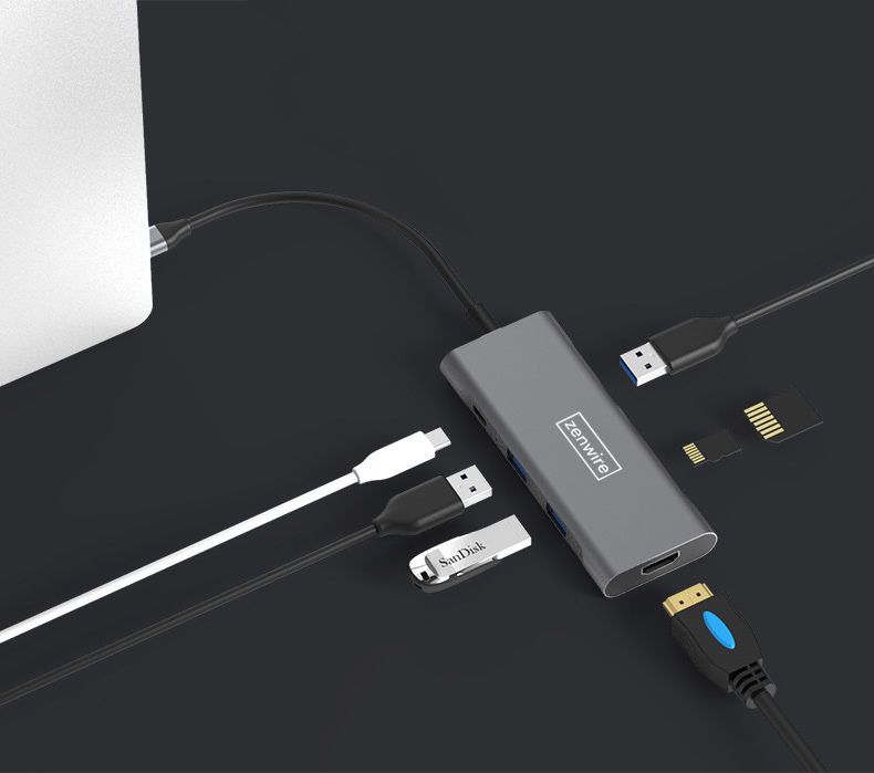 Jaki hub i adapter USB-C do Macbook Air i Pro ?